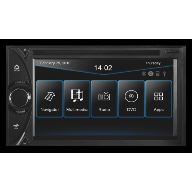 ESX- 630DS univerzálna 2 DIN navigácia
