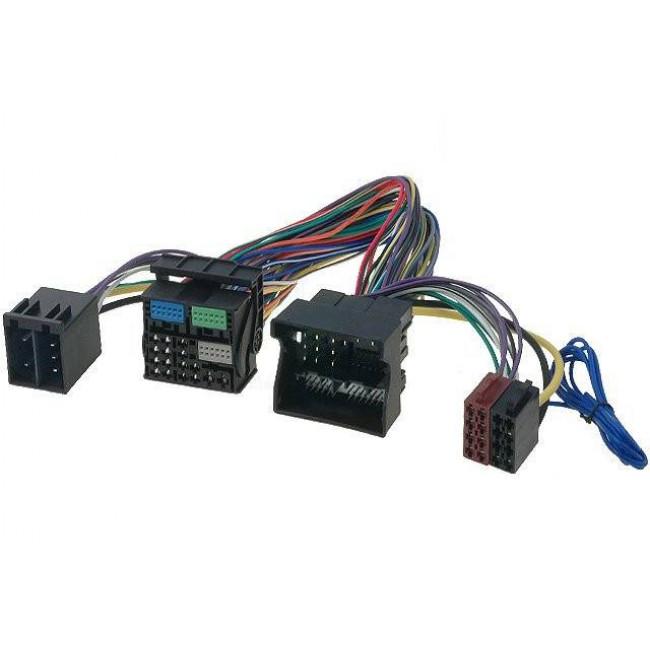 Kabeláž s rozpojiteľným ISO pre napojenie aftermarket zosilňovača, Parrot, Handsfree