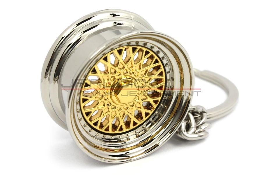 Kľúčenka - BBS koleso zlaté  38337425b35