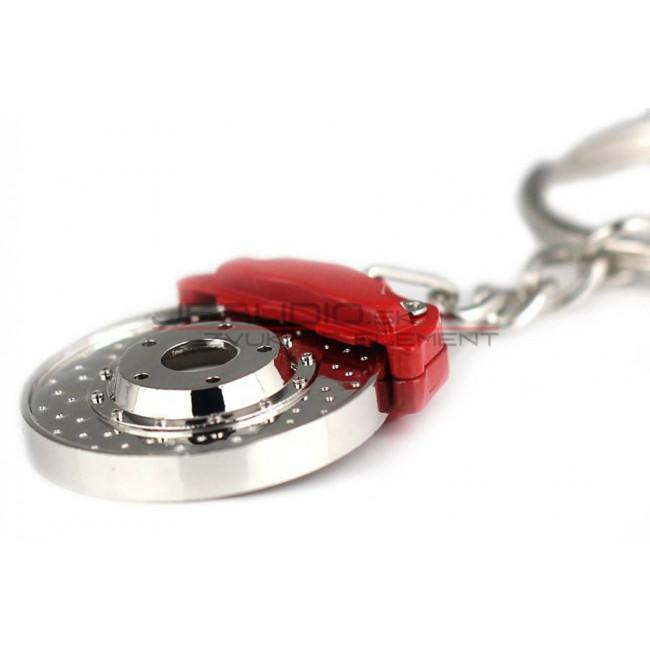 Prívesok na kľúče - Vŕtaný kotúč zo strmeňom