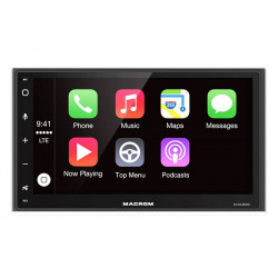 MACROM M-DL9000 navigácia 2DIN s Apple CarPlay a Android Auto funkciou