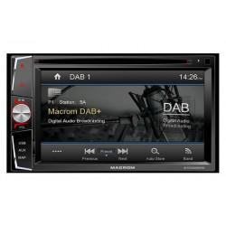 MACROM M-DVD6000 DAB navigácia 2DIN
