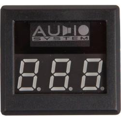 AUDIO SYSTEM DVM 12 - digitálny voltmeter s červeným podsvietením