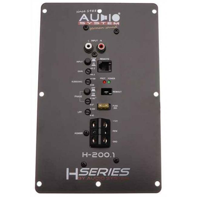 AUDIO SYSTEM H 200.1