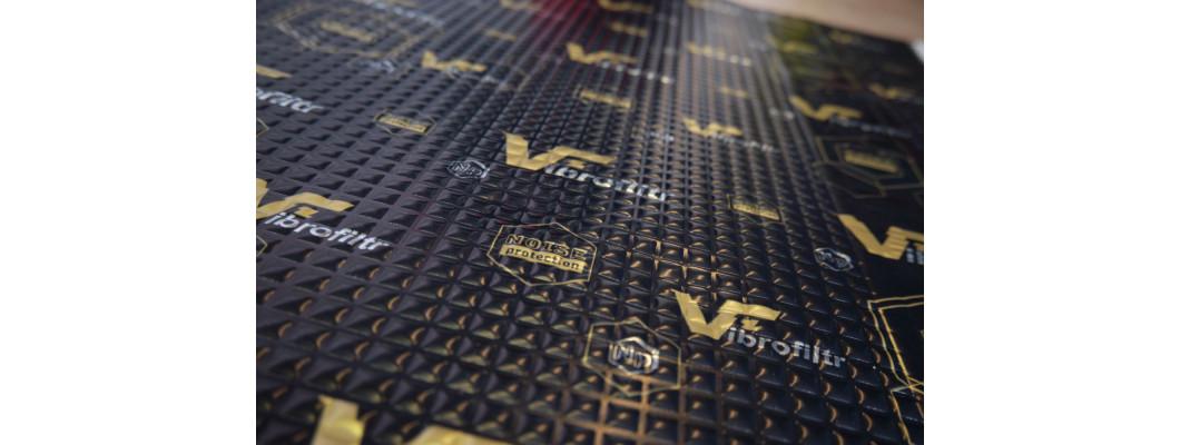 Upgrade tlmiaceho materiálu VIBROFILTR
