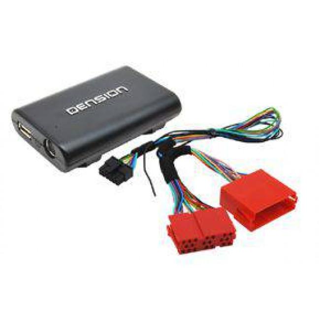 Adaptér Lite 3BT - vstup pre iPod-USB-AUX-Bluetooth pre AUDI