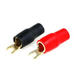 Sada izolovaných vidlicových konektorov M4 / 20mm2