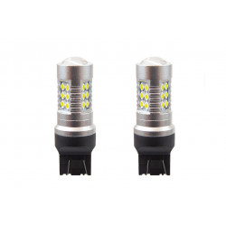 LED ŽIAROVKA AMIO CANBUS 24smd 3030 T20 7443 P21/5W Biela 12V/24v