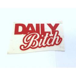 DAILY B*tch (červená)