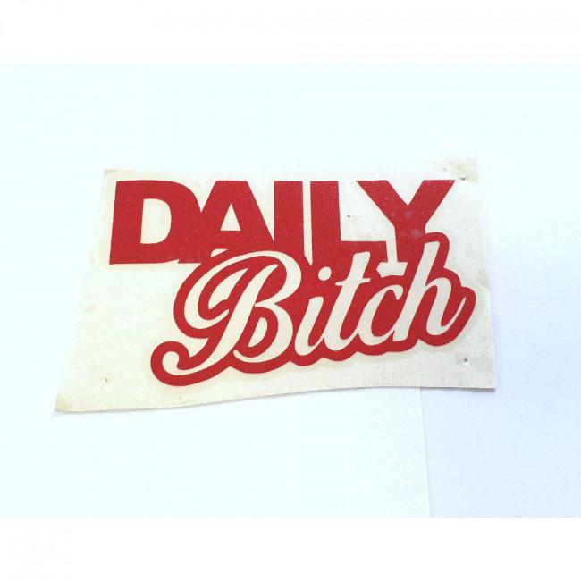 DAILY Bitch (červená)