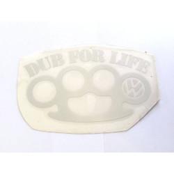 Dub for life (strieborná)