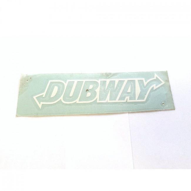 DUBWAY (biela)