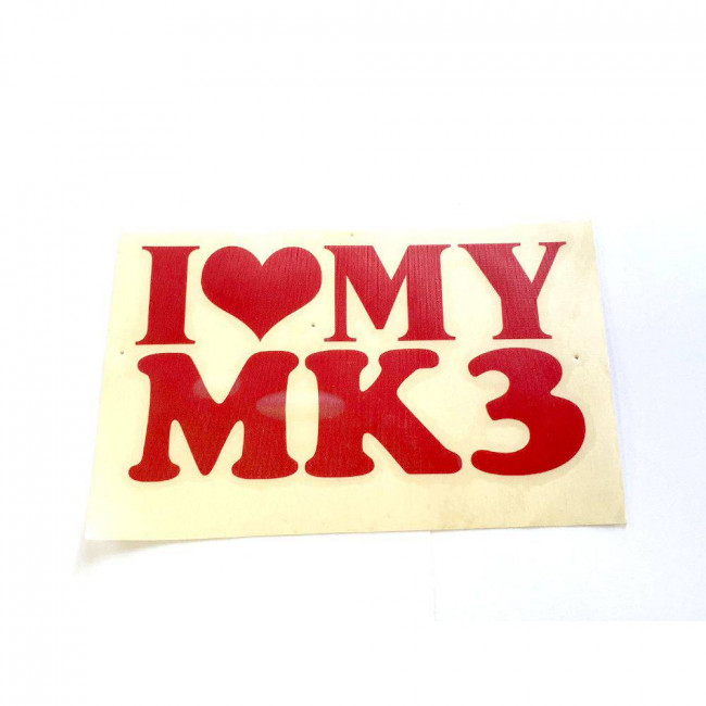 Love MK 3 červená