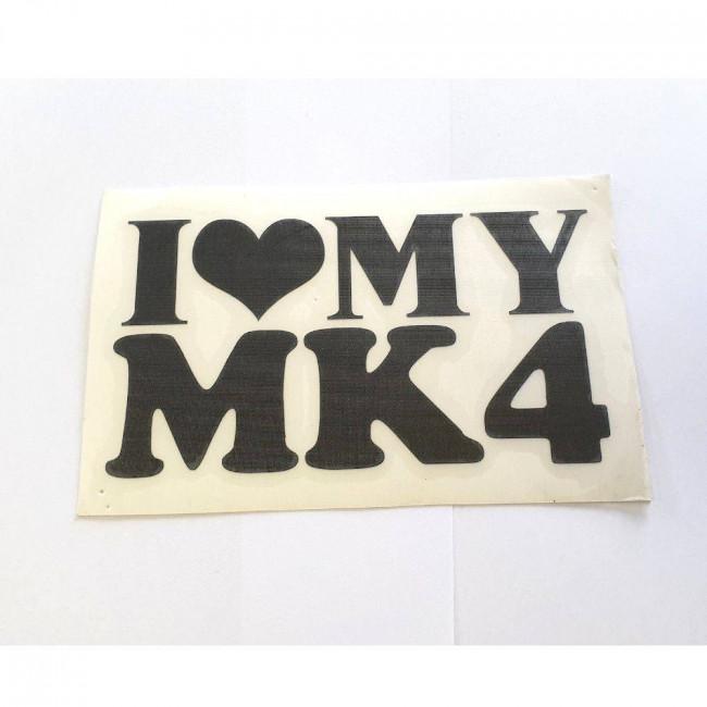 Love MK 4 čierna