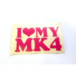 Love MK 4 ružová