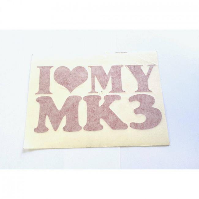 Love MK 3 červená (vnútorná)