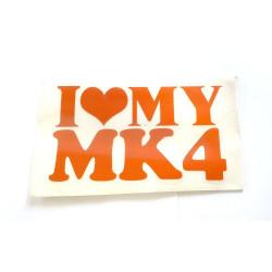 Love MK 4 oranžová