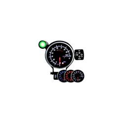 Programovateľný prídavný otáčkomer DUAL VIEW DEPO 95 mm - Benzín
