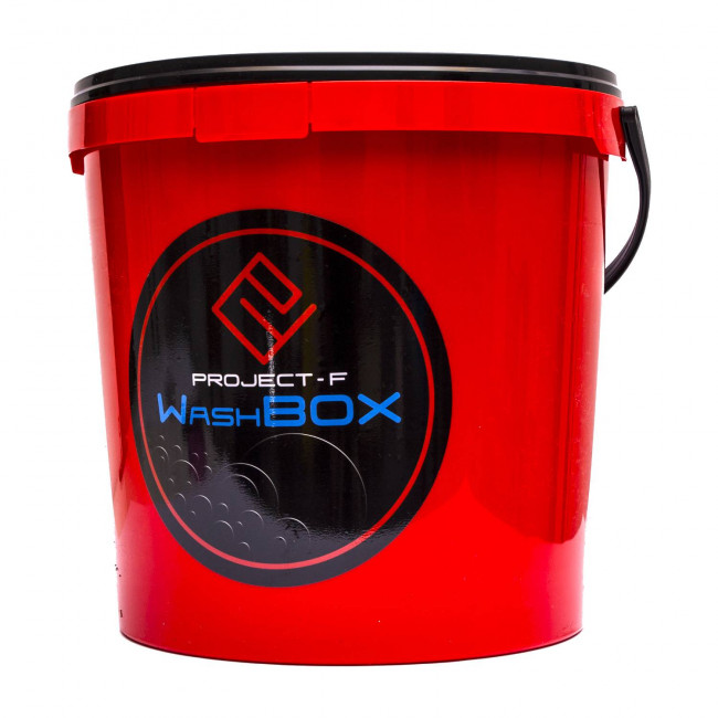 PROJECT F ® - WashBOX - red bucket 12,5l