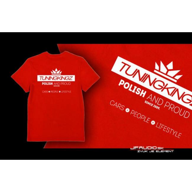 TuningKingz Tričko - TuningKingz Red