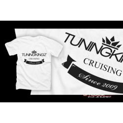 TuningKingz Tričko - TuningKingz white