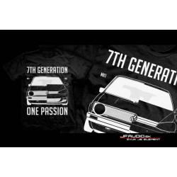 TuningKingz Tričko - VW 7th Generation one passion