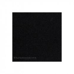 Čalúnenie, koberec na reproduktory - čierna