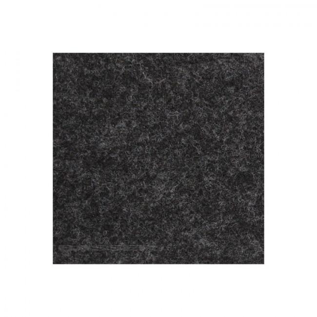 Čalúnenie, koberec na reproduktory - tmavá sivá