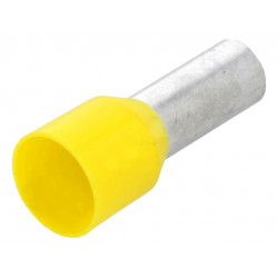 Izolovaný krimpovací nit 25mm2 Žltý