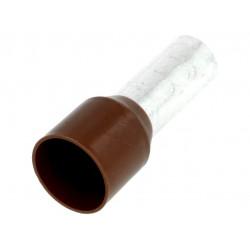 Izolovaný krimpovací nit 25mm2 Hnedý
