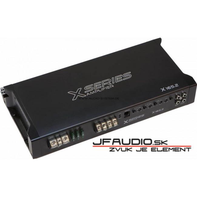 AUDIO SYSTEM X 165.2, 2 kanálový zosilňovač