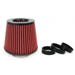 Univerzálny športový vzduchový filter VERTEX - CARBON LOOK s priemerom 55, 60, 65, 70, 76mm