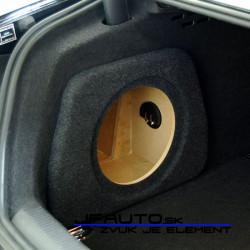 Bedňa na subwoofer Audi A4 B8 sedan 08-