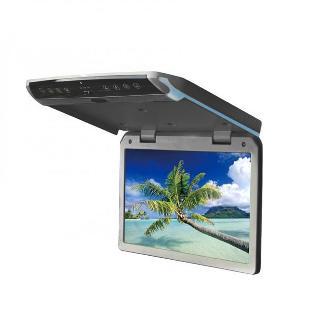 """Multimediálny stropný monitor, slim, 10.1"""" USB/HDMI, šedý MR1011GTB"""