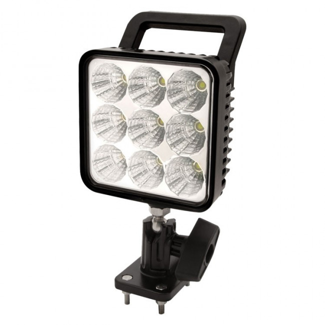 Pracovné LED svetlo ECCO,  9 x 3W LED, 12-24V, biele, EW2450